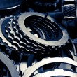 Automobile gear assembly — Stock Photo #35349487