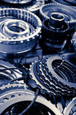 Automobile gear assembly — Stock Photo