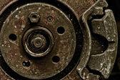 Car Disc Break — Stock Photo