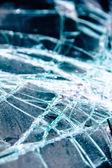 Glass cracked background — Stock Photo