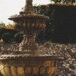 Old stone fountain — Stock Photo