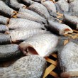 Drying snakeskin gourami fishes — Stock Photo #36152031
