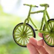 Eco bicycle — Foto de Stock