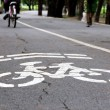 Bike lane — Stock Photo #36308749