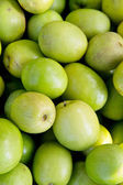 Fresh monkey apple fruit background — Stock Photo