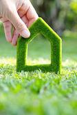 Green house icon concept — Foto de Stock