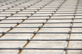Reinforced concrete,floor construction — Stock Photo