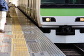 Tokyo Commuter Train — Foto de Stock