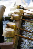 Shinto Shrine Purification Ladles — Foto Stock
