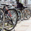 Lot of Bicycles parking — Stock Photo #46916879