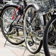 Lot of Bicycles parking — Stock Photo #46916893