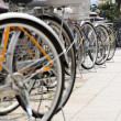 Lot of Bicycles parking — Stock Photo #46916945