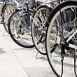 Lot of Bicycles parking — Stock Photo #46916955