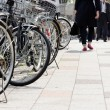 Lot of Bicycles parking — Stock Photo #46916961