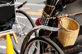 Detail of Rickshaw — Stockfoto