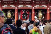 The Senso-ji Temple in Asakusa — Stock Photo