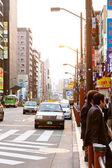 Street life in Shinjuku,Japan — Stock Photo