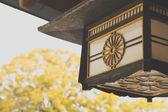 Lamp Decoration of Meiji Shrine — Stock Photo