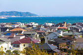 Landscape view of Kamakura town, Japan — Stockfoto