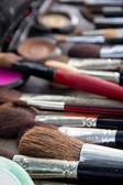 Makeup brushes — Stock Photo