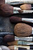 Pędzle do makijażu — Zdjęcie stockowe