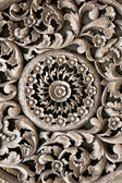 Antique Carved wooden — Stockfoto