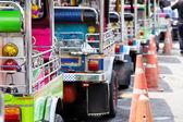 Tuk tuks taxi — Stock Photo