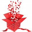 The box of love - Stock Vector