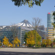 Stock Photo: BERLIN - OCTOBER 20, 2012: View to the Potsdamer Platz buildings