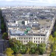 Paris city view - Stock Photo