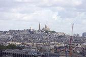 Vista de la colina de montmartre en parís — Foto de Stock