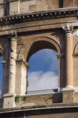 Koloseum w jednym oknie — Zdjęcie stockowe
