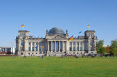 Reichstag in Berlin, Germany — Stock Photo