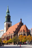 St. Mary's Church in Berlin — Stock Photo