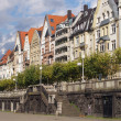 Colorful houses in Dusseldorf — Stock Photo #28628385