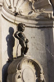 Statue of Mannekenpis in Brussels — Stock Photo