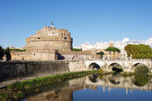 St. Angel Castle in Rome, Italy — Stock Photo