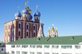 Monastery in Ryazan Kremlin and churches — Stock Photo