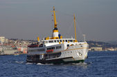 Passenger ferry in Istanbul — Stock Photo