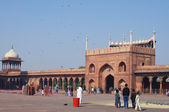 DELHI, INDIA - JANUARY 03: View of Jama Masjid Mosque — Stock Photo