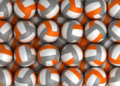 Volleyball Texture — Stock Photo