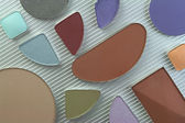 Cosmetic colors — Stock Photo