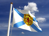 Nova Scotia flag Canada — Stock Photo