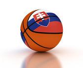 斯洛伐克篮球 — 图库照片