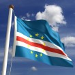 Cape Verde Flag — Stockfoto #16805037