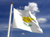 Cyprus Flag — Stock Photo