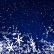 Snow Flakes — Stock Photo #18035863