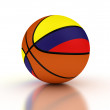 Stock Photo: ColombiBasketball Team