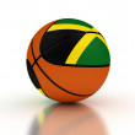Jamaican Basketball Team — Stock Photo