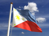 Philippines Flag — Stock Photo